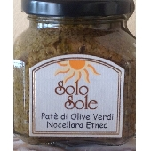 Paté of green Nocellara Etnea olives - SoloSole