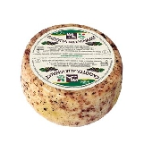 Caciotta mixed cattle and sheep's milk with pomace Valmetauro - Formaggi tre Valli