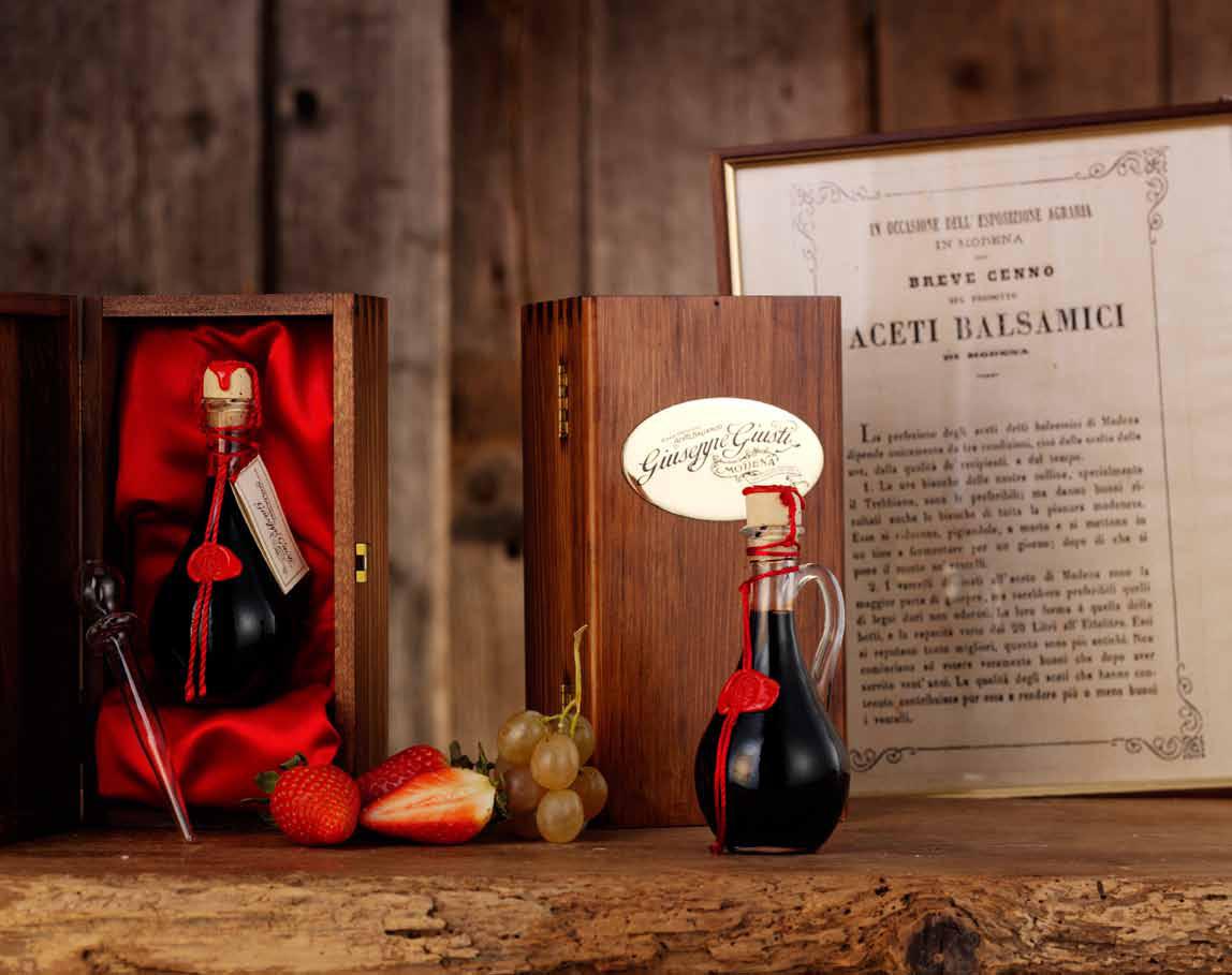 Aceto Balsamico ACETAIA GIUSTI - Balsamic vinegar