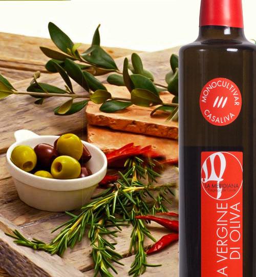 LA MERIDIANA - Extra Virgin Olive Oil Puegnago del Garda Casaliva Monocultuivar