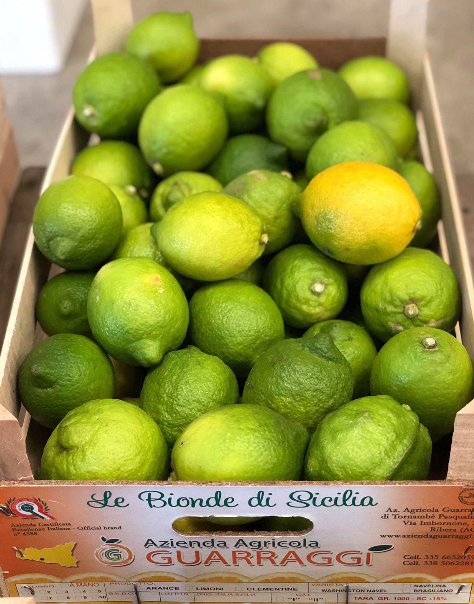 Sicilian lemons from Ribera