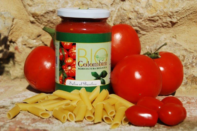 Organic tomato basil sauce- Bio Colombini