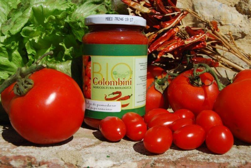 Organic tomato chili sauce - BioColombini
