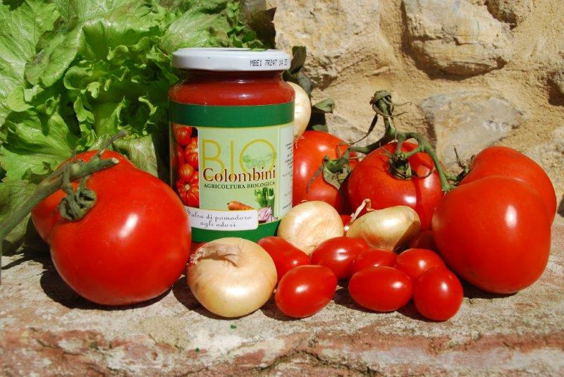 Organic tomato vegetable sauce  BioColombini