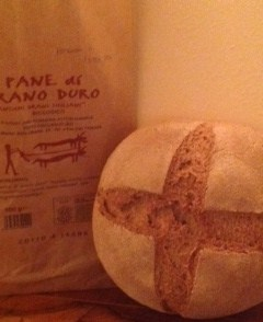 Stonebaked organic durum wheat bread - Forno Astori