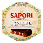 70% Extra dark chocolate Panforte - Sapori Siena