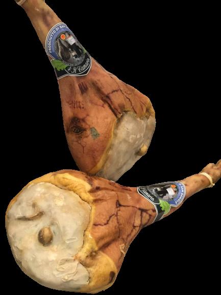 PROSCIUTTO CRUDO SAN DANIELE (raw San Daniele ham) WITH BONE MATURED FOR 32 MONTHS - Prosciutto Crudo San Daniele (Raw San Daniele Ham) With Bone Matured For 32 Months - Il Camarin