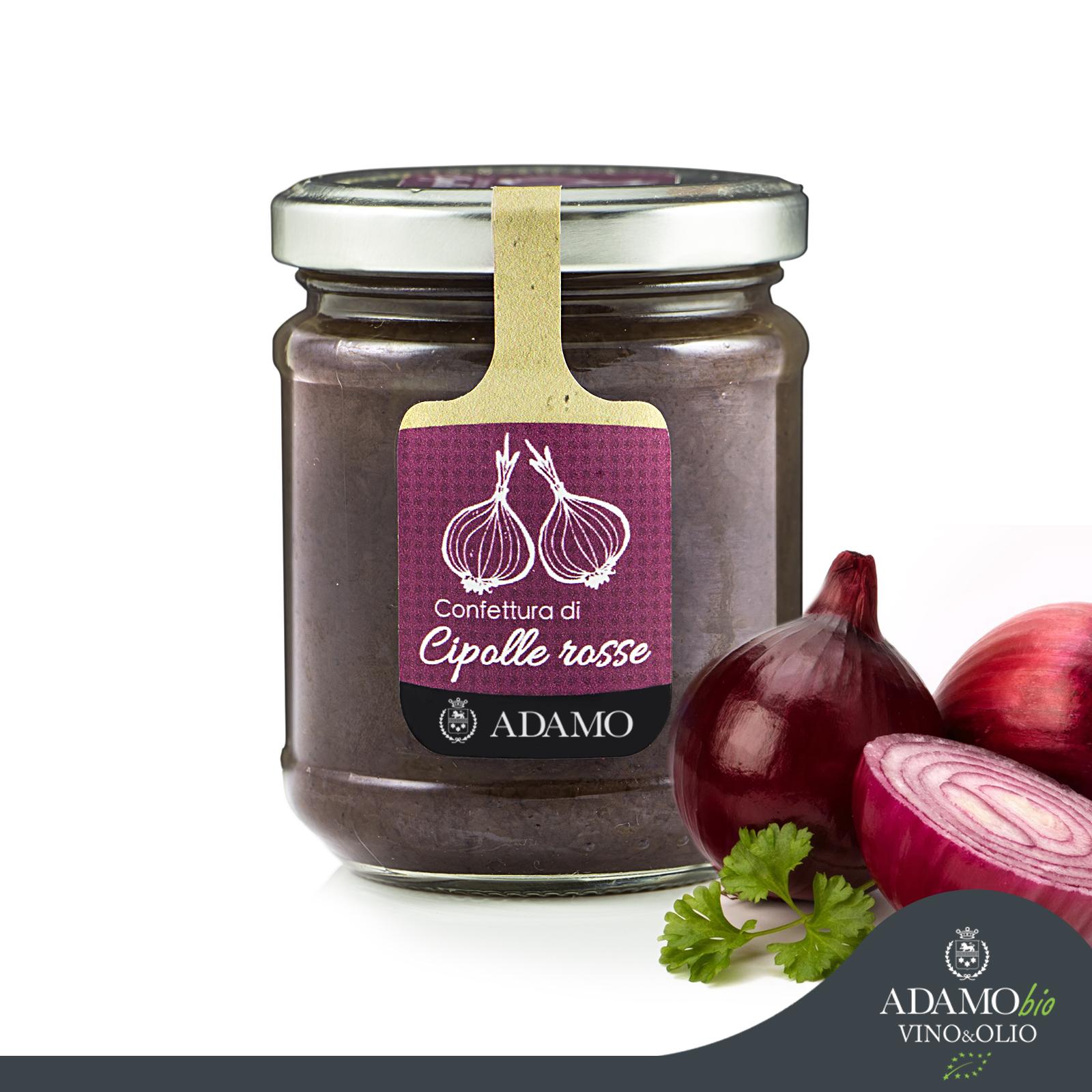 Red onions jam - Azienda Agricola Biologica Adamo