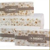 WHITE CRUMBLY TORRONE Piedmontese Hazelnuts I.G.P. - Torronificio Barbero