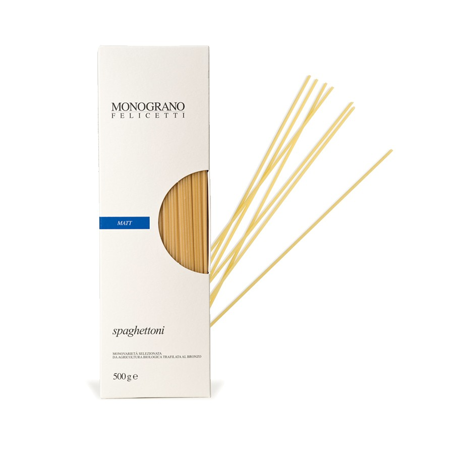 Spaghettoni Monograno Organic - Pastificio Felicetti