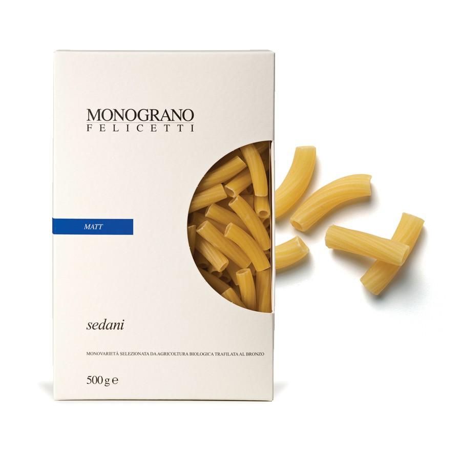 Sedani Monograno Organic - Pastificio Felicetti