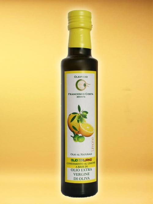 LEMON SEASONING BASED ON EXTRA VIRGIN OLIVE OIL - Oleificio Costa