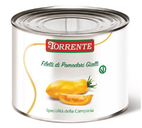 YELLOW TOMATOES IN THREADS - LA TORRENTE