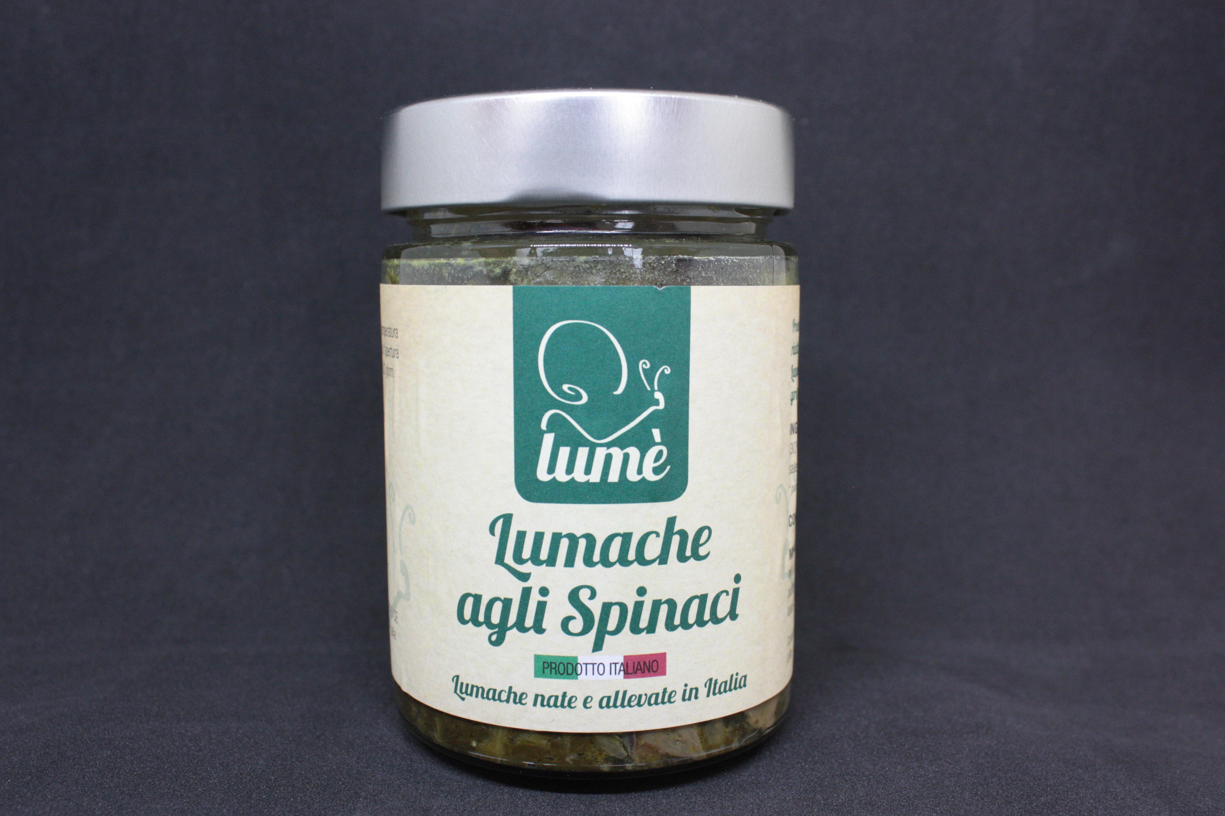 Lumache agli spinaci - Lum�