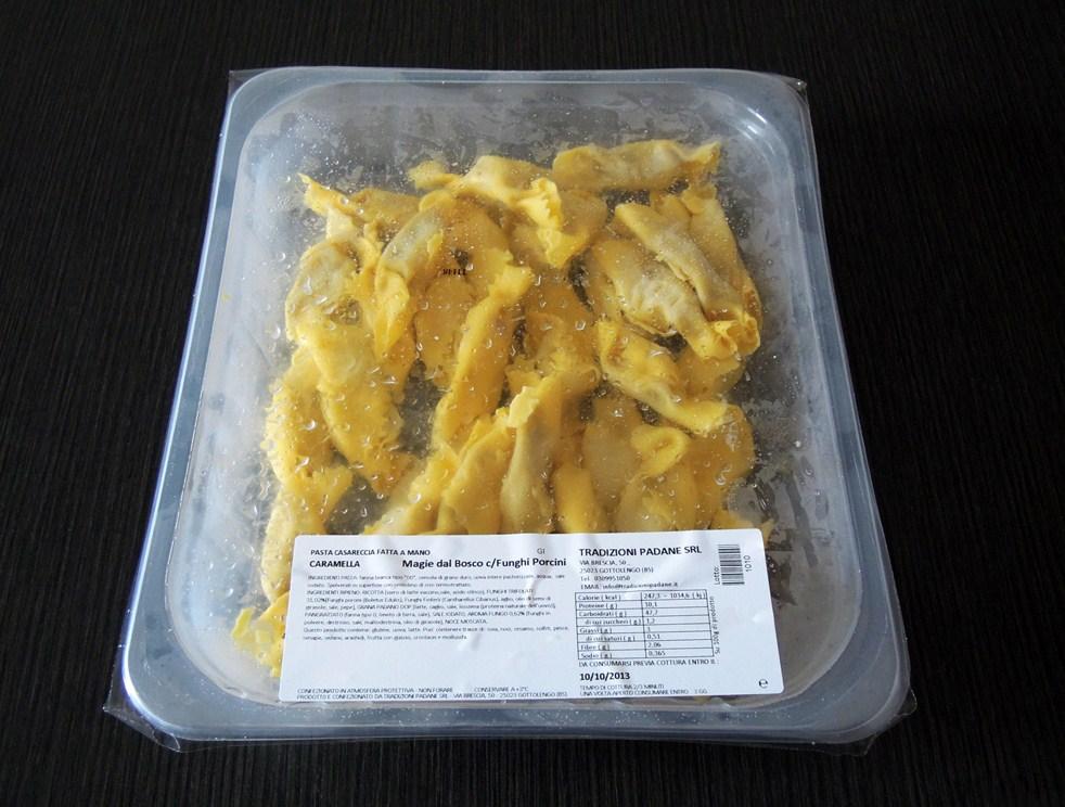 Magie del Bosco Ravioli con Funghi Porcini - Tradizioni Padane