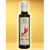 Garlic seasoning based on extra virgin olive oil - Oleificio Costa